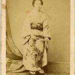NUMA BLANC DONNA GIAPPONESE, [Giappone, 1865]