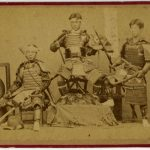 ANONIMO ANTICHI GUERRIERI GIAPPONESI, [Giappone, 1867]