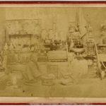 ANONIMO MERCANTE D'ANTICHITA' GIAPPONESE, [Giappone, 1867]