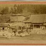 ANONIMO GIARDINO ZEN NELL'ISOLA DI MATSUSHIMA, [Giappone, 1867]