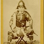 ANONIMO SAMURAI, [Giappone, 1880]