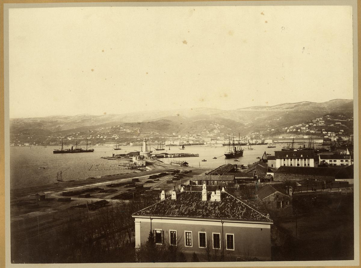 Giuseppe wulz 1843 1918 comune di trieste fototeca - Bagno lanterna trieste ...