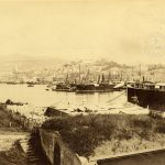 31. Giuseppe Wulz, Veduta di Trieste dalla Lanterna, [1909] F10526
