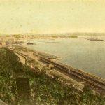 31c Giuseppe Wulz, Veduta del porto di Trieste, [ante 1910] F56