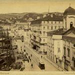 48. Francesco Benque, Riva Carciotti con il ponte verde in costruzione, [1904] F9090
