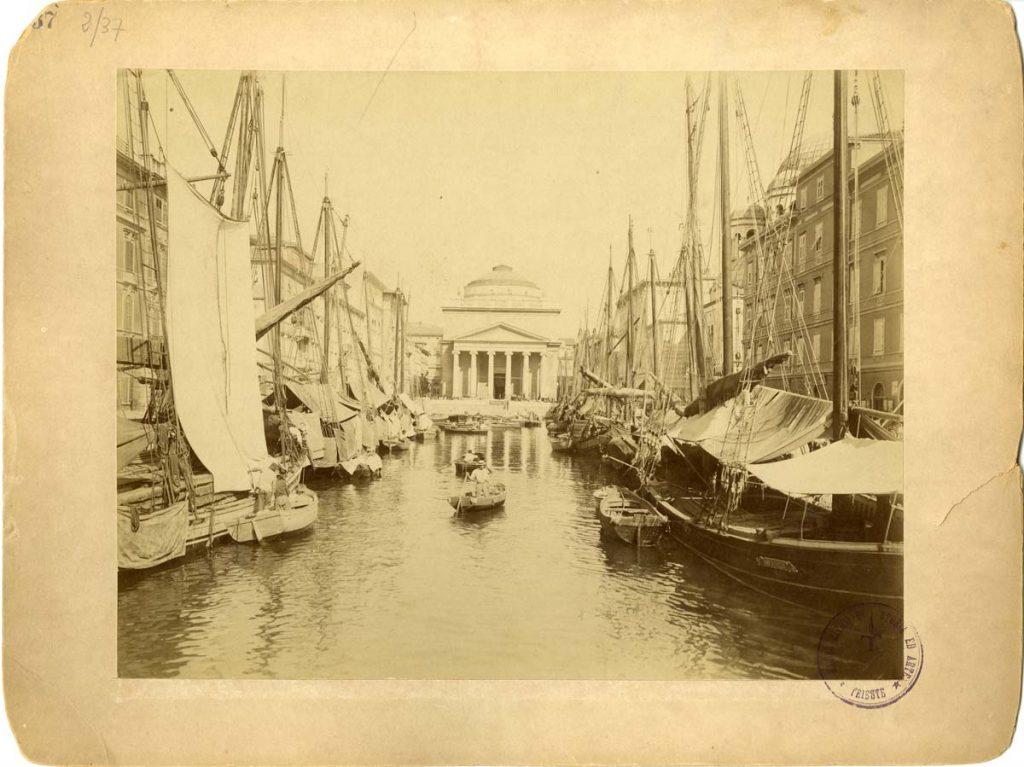 Fratelli Alinari, Canale del Ponterosso, [1898] F37