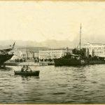 Alois Beer, Veduta del porto : vecchio molo della sanità, [1910] F8956