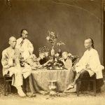 ANONIMO - FUMATORI DI OPPIO CINESI, [Cina, 1890]