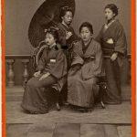 ATTRICI GIAPPONESI, Nagasaki, [1869-1870]