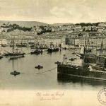 12. Veduta del porto di Trieste, 1899 F121