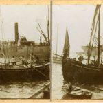 21. Barche in partenza dal molo San Carlo, [1913] F 24822