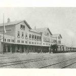 26b. Giuseppe Wulz, Giorno dell'inaugurazione della Stazione S. Andrea, [1887] F42730