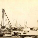 30. Hafen mit Leuchtthurm : Trieste [1909] F8973