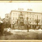 49. Piazza grande con la neve , [1911] F16453, F16454, F21996